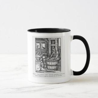 Der Papierhersteller Tasse