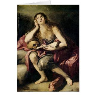 Der Penitent Magdalene Karte