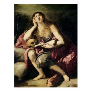 Der Penitent Magdalene Postkarte