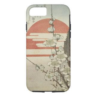 Der Pflaumen-Baum und das aufgehende Sonne iPhone 8/7 Hülle