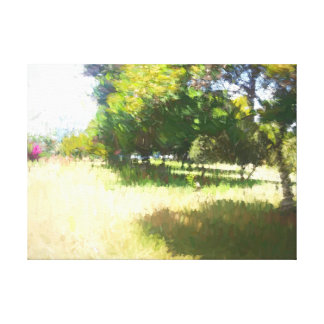 Der Raanana Park 4 Leinwanddruck