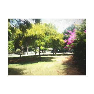 Der Raanana Park 5 Leinwanddruck
