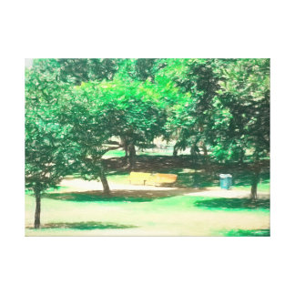 Der Raanana Park 6 Leinwanddruck