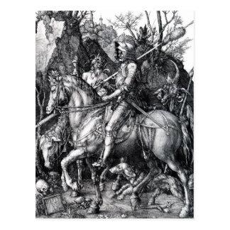 Der Ritter, Tod und der Teufel durch Albrecht Postkarten