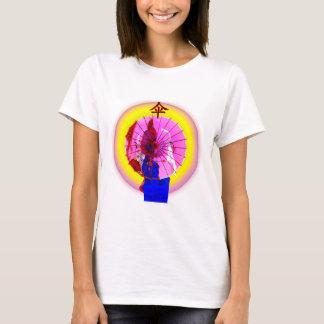 Der rosa Sonnenschirm T-Shirt