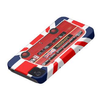 Der rote London-Doppeldecker-Bus Case-Mate iPhone 4 Hülle