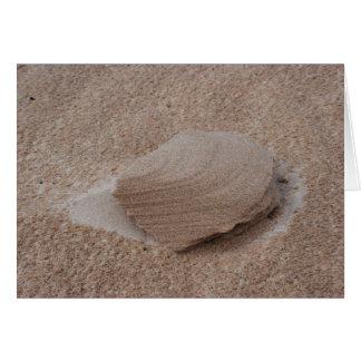 Der Sand-Skulptur der Natur Karte