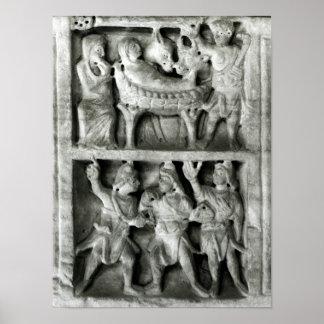 Der Sarkophag der Geburt Christi Poster