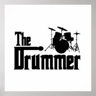 Der Schlagzeuger Poster