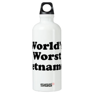 Der schlechteste Vietnamese der Welt Wasserflasche