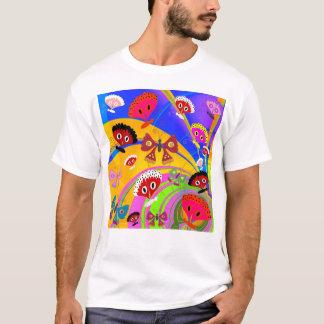 Der Schmetterlings-Collage des T - T-Shirt