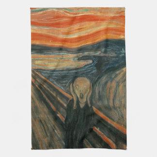 Der Schrei durch Edvard Munch Geschirrtuch