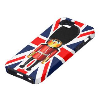 Der Schutz-Soldat-Cartoon der Königin iPhone 5 Case
