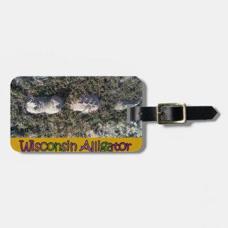 Der seltene Wisconsin-Alligator Kofferanhänger