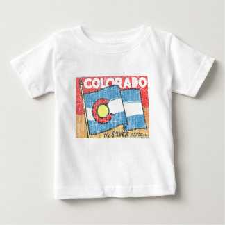 Der silberne Staat Baby T-shirt