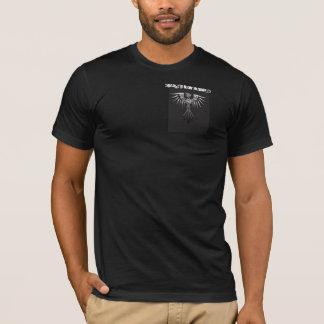Der Stammes- das Shirt Vogel-Männer des Chroms
