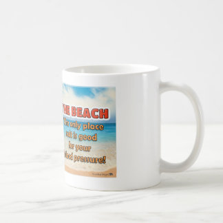 Der Strand - wo Salz für Blutdruck gut ist Tasse