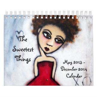 Der süßeste Sache-20-monatige Kalender