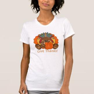 Der T - Shirt der Erntedank-Bärn-Feiertagsfrauen