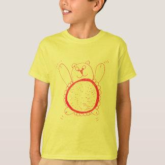 Der T - Shirt der Sonnenblume-Bärn-Kinder
