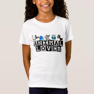 Der T - Shirt der Tierliebhaber-Kinder