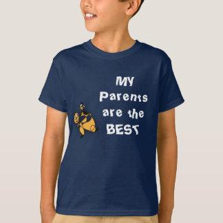 """der T - Shirt des Kindes """"meine Eltern sind das"""