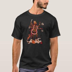 Der T - Shirt Göttin Kali Männer