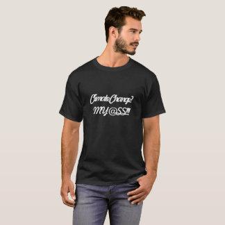 Der T - Shirt-Klima-Änderung der Männer schwarze T-Shirt