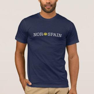 Der T - Shirt NorSpain Männer - Dunkelheit (Camino