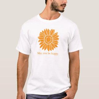Der T - SHIRT Sonnenblume MÄNNER
