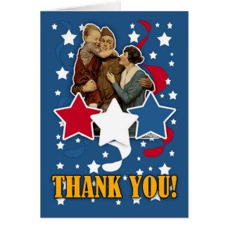 der Tag des Veterans - Volkstrauertag danken Ihnen Karte