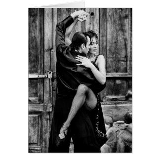 Der Tango Karte