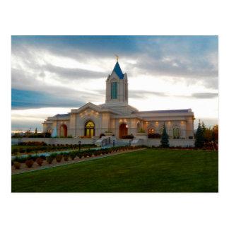 Der Tempel Fort Collins Colorado LDS Postkarte