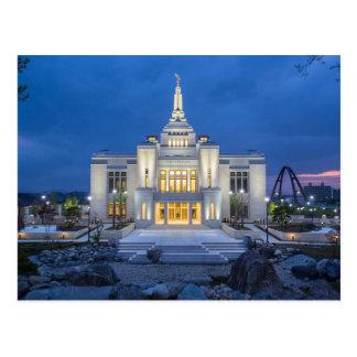Der Tempel Sapporos Japan LDS Postkarten