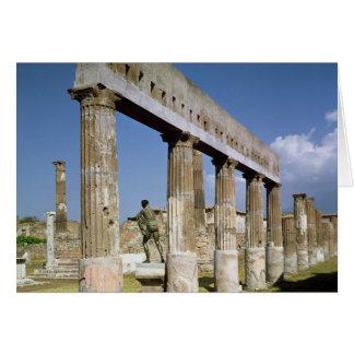 Der Tempel von Apollo Karte