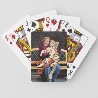 Der Tiger-Spielkarten der Rose, Spielkarten