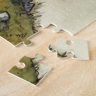 Der Turm-Puzzle des Zauberers vom unwirklichen Puzzle