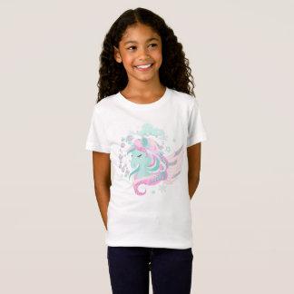 Der Unicorn-Imitat-Glitzer-Mädchen verurteilen T-Shirt