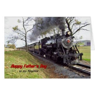Der Vatertags-Dampf-Zug für Neffeen Karte