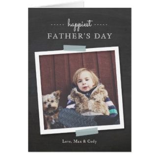 Der Vatertags-Karte Tafel-Beifall- Grußkarte