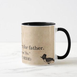 Der Vatertags-Tasse, die Definition des Vatis Tasse