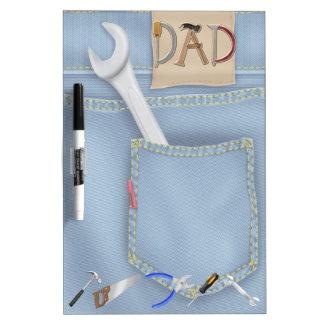 Der Vatertags-trockenes Löschen-Brett Werkzeug- Memo Boards