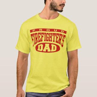 Der Vati des stolzen Feuerwehrmanns T-Shirt