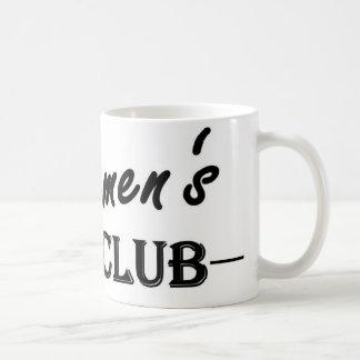 Der Verein-Kaffee-Tasse der Herren Tasse