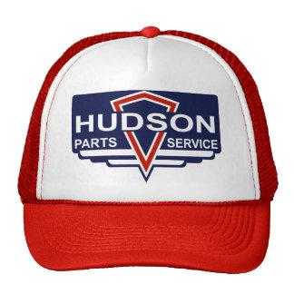 Der Vintage Hudson zerteilt Zeichen Mütze