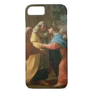 Der Visitation (Öl auf Leinwand) iPhone 8/7 Hülle