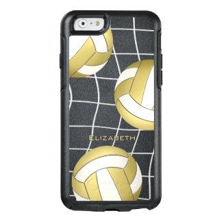 der Volleyball der Goldweißen Frauen OtterBox iPhone 6/6s Hülle