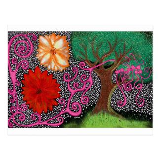 Der Wald der ewigen Möglichkeit Postkarte