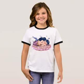 Der Wecker-T - Shirt MEERJUNGFRAU-SEECartoon