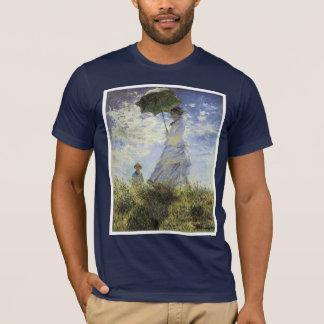 Der Weg, Dame mit einem Sonnenschirm T-Shirt